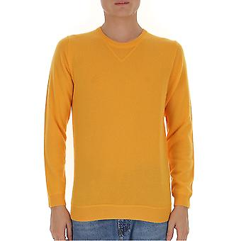 Laneus K2153cc11giallo Men's Yellow Wool Sweater