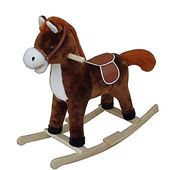 Traditional Rocking Horse Dark Brown 12m+