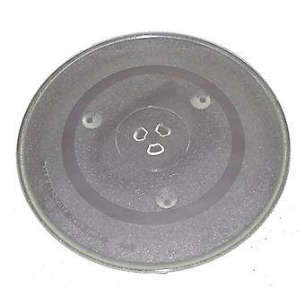 Microondas prato giratório vidro 315mm Fits afiada e Universal da cisne