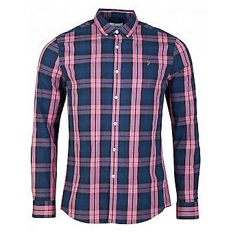 Farah Brewer Tartan Checked Shirt