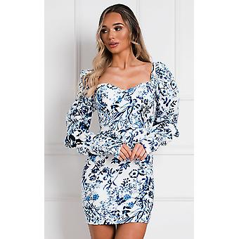 IKRUSH Femmes Paige Floral Bodycon Robe