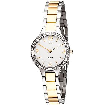 JOBO Femme Montre-bracelet Quartz Analog Stainless Steel avec SWAROVSKI® ELEMENTS Women's Watch