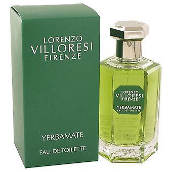 Yerbamate eau de toilette spray (unisex) by lorenzo villoresi 533415 100 ml