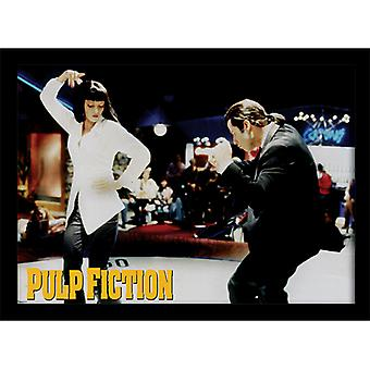 Pulp Fiction Dance kehystetty levy 30 * 40cm
