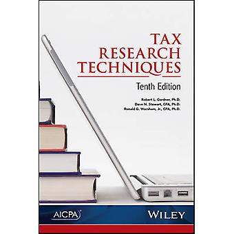 Tax Research Techniques by Robert L. Gardner - 9781941651476 Book