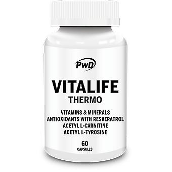 PWD Nutrition Vitalife Thermo 60 Capsules