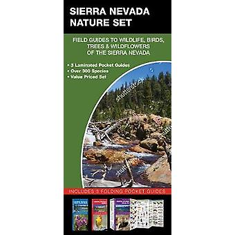 Sierra Nevada Nature Set - Field Guides to Wildlife - Birds - Trees &a