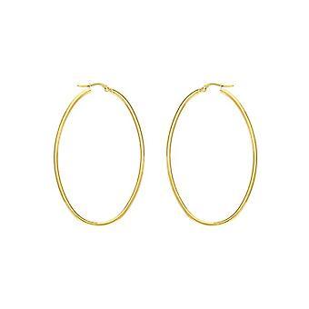 E-10616 - Women's hoop earrings - 9k yellow gold (375)