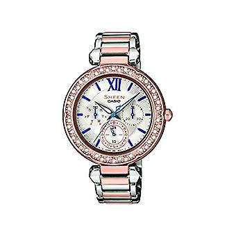 Casio Analog quartz ladies with stainless steel strap SHE-3061SPG-7BUER