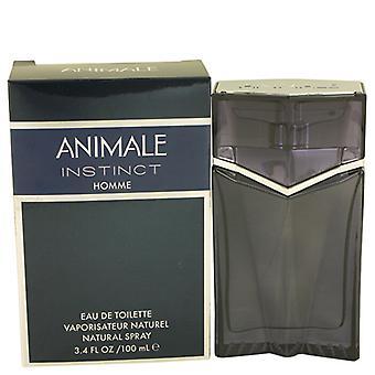 Animale Instinct Eau De Toilette Spray 100ml/3.4oz