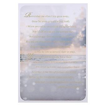 Hallmark Christina Rossetti Remember Poem Thinking Of You Card 11372395
