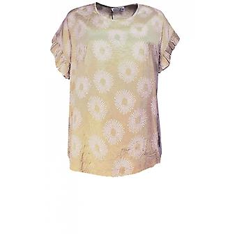Masai Vaatteet Earleen Sand Frilled Hiha Top
