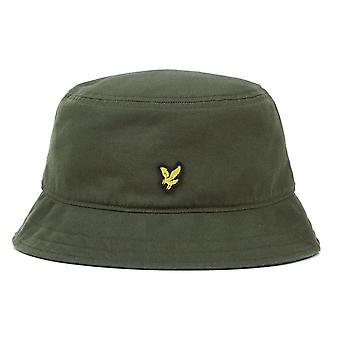 Lyle & Scott ? Sombrero de cubo de algodón He800a
