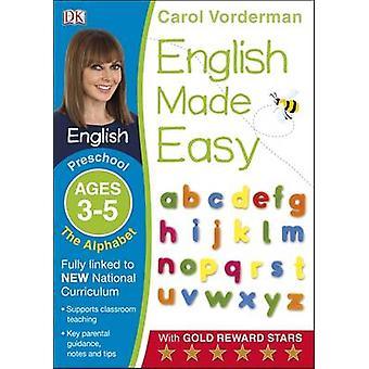 Englanti teki helppoa aakkoset esiopetuksen Ages 3-5-esikoulun ikä 3-5