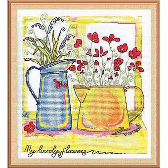 Panna Cross Stitch Kit : Morning Watercolours