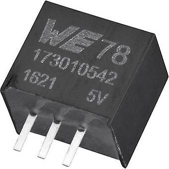 Würth Elektronik 173010542 DC/DC-Wandler (Druck) 5 V 1 A 5 W Nr. der Ausgänge: 1 x