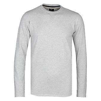 Edwin Terry Grey Marl Crew Neck T-paita