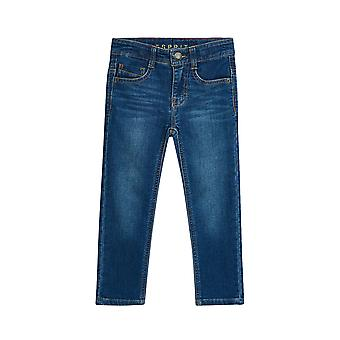 Esprit Boys' Jeans In Soft Denim With Adjustable Waistband