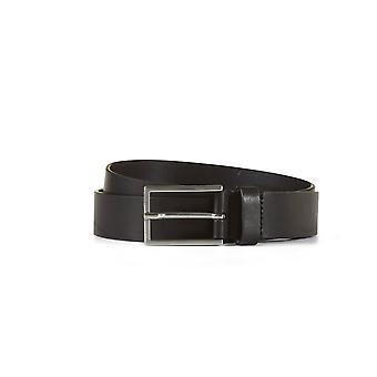 Leather belt henry black
