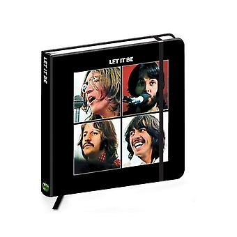 The Beatles Notebook Let It Be band logo new Official quality hardback journal