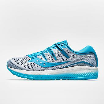 Saucony انتصار ISO 5 المرأة أحذية الجري