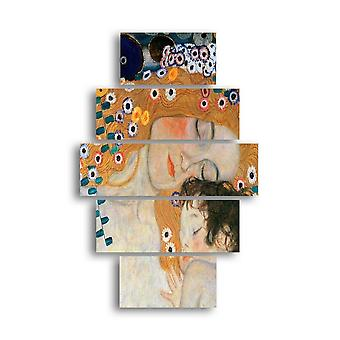 Quadro Authors' Inspiration 152 Multicolore in MDF, L19xP0,3xA40 cm (2 pcs), L19xP0,3xA50 cm (2 pcs), L19xP0,3xA60 cm (1 pcs)