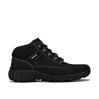 Men's Rockport Cold Spring Chukka Boots in Black