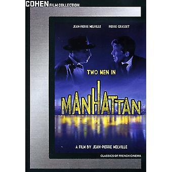 Two Men in Manhattan [DVD] USA import