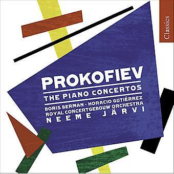 S. Prokofiev - Sergey Prokofiev: Piano Concertos [CD] USA import