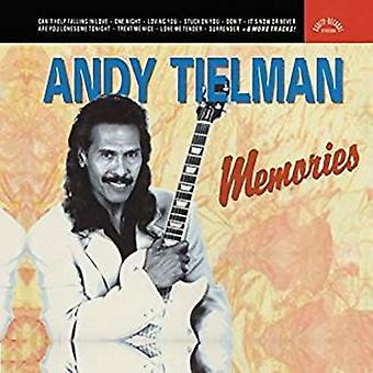 Andy Tielman - Memories of Elvis [CD] USA import