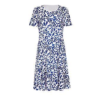 TIGI White Summer Print Dress