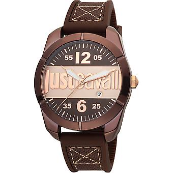 Just Cavalli Young Watch JC1G106P0035 - Silicon Gents Quartz Analogue