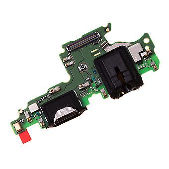 純正のファーウェイ名誉ビュー10 - タイプC USB充電ポートボード - 02351STG