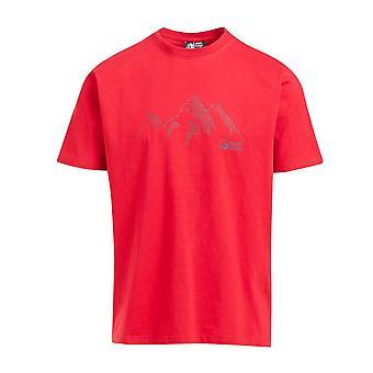 North Ridge Miehet&s Range T-paita Punainen