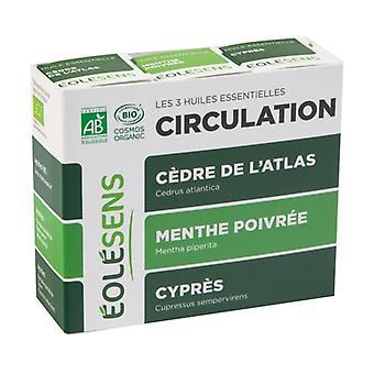 Circulation Trio: 3 essential oils 3 units