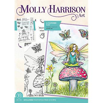 Crafter's Companion Molly Harrison A Summer Day Clear Stamps