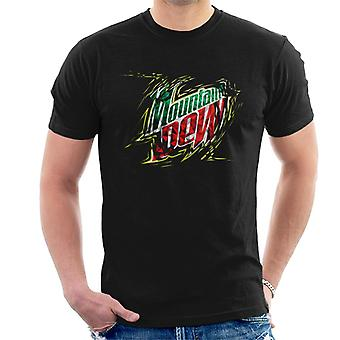 Mountain Dew Prism Design Men's T-Shirt