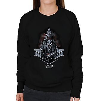 Assassins Creed Sendikası Top Hat Jacob Frye Women's Sweatshirt