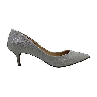 Jewel Badgley Mischka Women's ROYALTY Shoe, Silver Glitter, 7 M US