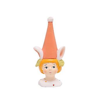 Resin Figurines Home Cartoon Ornament Miss Rabbit