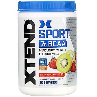 Xtend, Xtend Sport, 7G BCAA, Strawberry Kiwi Splash, 12.2 oz (345 g)