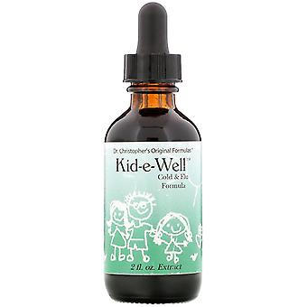 Christopher's Original Formulas, Kid-e-Well, Cold & Flu Formula Extract, 2 fl oz