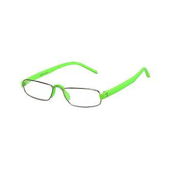 Leesbril Unisex Le-0163H Notarislicht groene sterkte +2,00