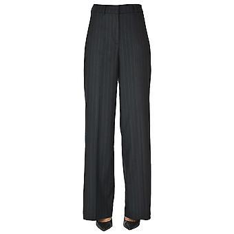I.c.f. Ezgl456026 Women's Blue Wool Pants