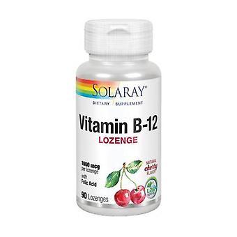 Vitamin B-12 with Folic Acid 90 capsules of 1000μg