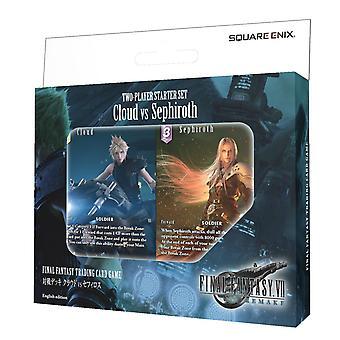 Final Fantasty TCG: Final Fantasy 7 (VII) Remake 2-Player Starter Set Cloud vs Sephiroth