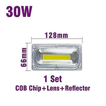 Led Cob Smart Chip With Lens Reflector Silicone Ring -cold Warm White Ac 110v 220v Suitable For Warehouse