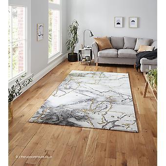 Nebel Elfenbein Gold Teppich