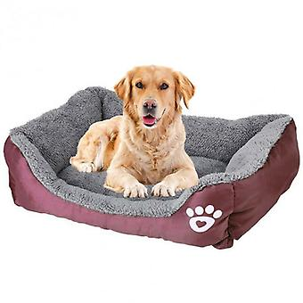 Pet Dog Cat Bed Soft Warm Cushion Puppy Kennel Mat Blanket Washable