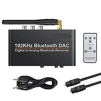 192khz Bluetooth Dac With Remote Control, Built-in Bluetooth V5.0 Receiver